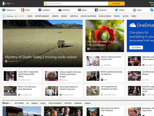 Microsoft Overhauls MSN.com
