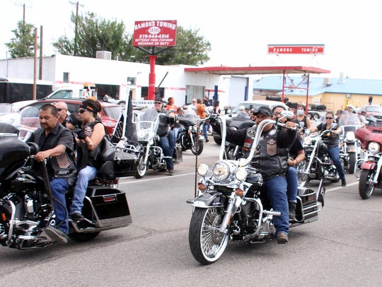 """Close to 400 motorcycles are expected to roar through the streets of Deming and neighboring communities on Saturday during the ninth annual Rockin' The Streets Bike Run in memory of Ramon """"Momo"""" Pena III."""