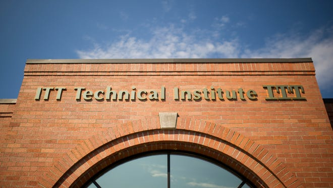 The ITT Technical Institute campus in Newburgh sits empty, Tuesday, Sept. 6, 2016. ITT Tech closed its doors Tuesday following federal sanctions.