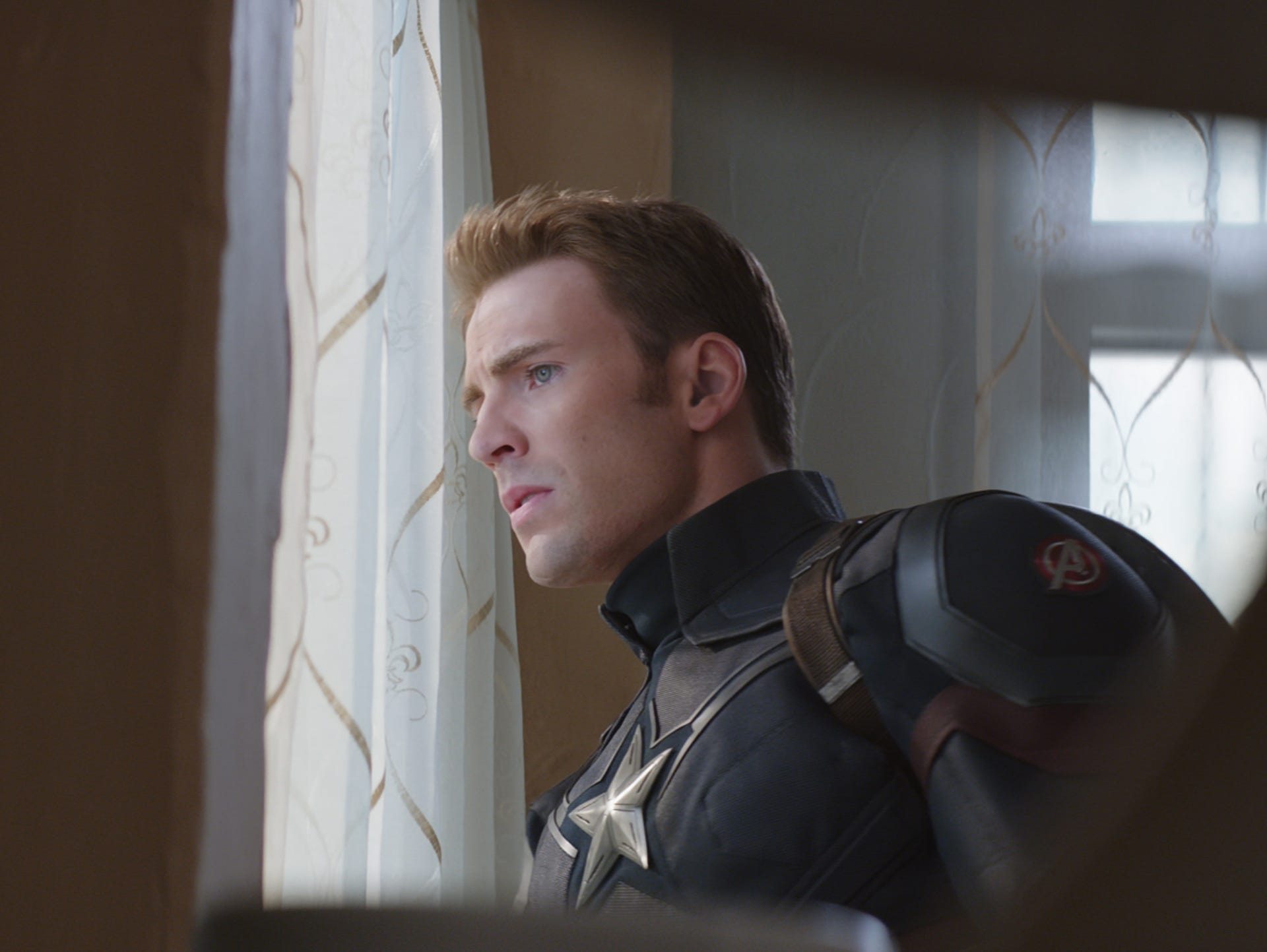 Steve Rogers (Chris Evans) goes rogue from the U.S.