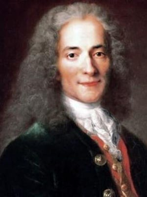 Voltaire was a prolific writer, but made his money from a flaw in the French lottery. He was also a fan of coffee and consumed up to 40 cups a day.
