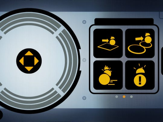 This screenshot of the app controls show how Sphero's BB-8 works like a video game.
