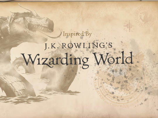 """""""Fantastic Beasts- Cases from the Wizarding World"""""""