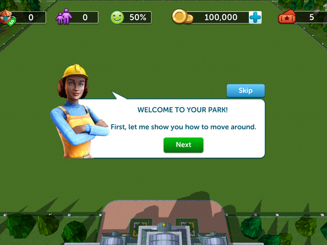 RollerCoaster Tycoon Touch: sad brother to a great game