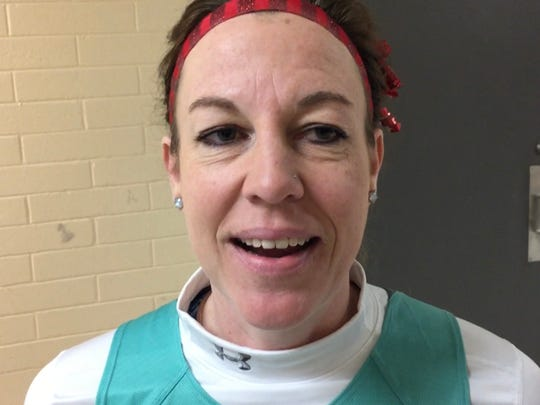 Chilly Willy runner Laura Strelow runs in all kinds