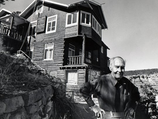 Emery C. Kolb, photographer of the Grand Canyon in