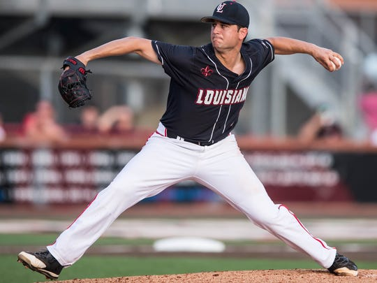UL pitcher Gunner Leger named as a third-team All-American by Collegiate Baseball on Monday.