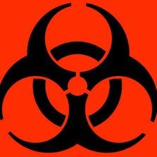 Symbol for biohazard.
