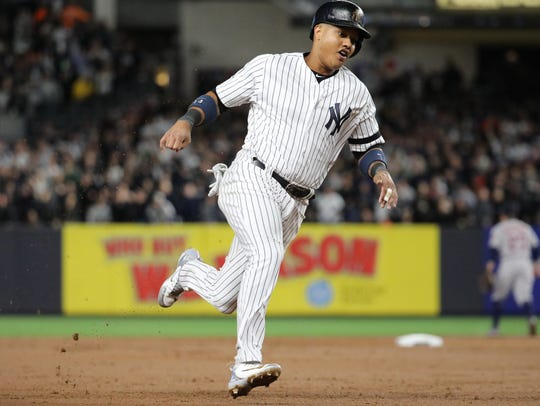 Yankees second baseman Starlin Castro