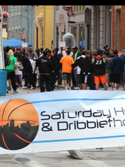 Saturday Hoops and Dribblethon is returning for its 12th year May 14.