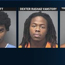 Three teenagers charged and arrested for multiple robberies in Greensboro