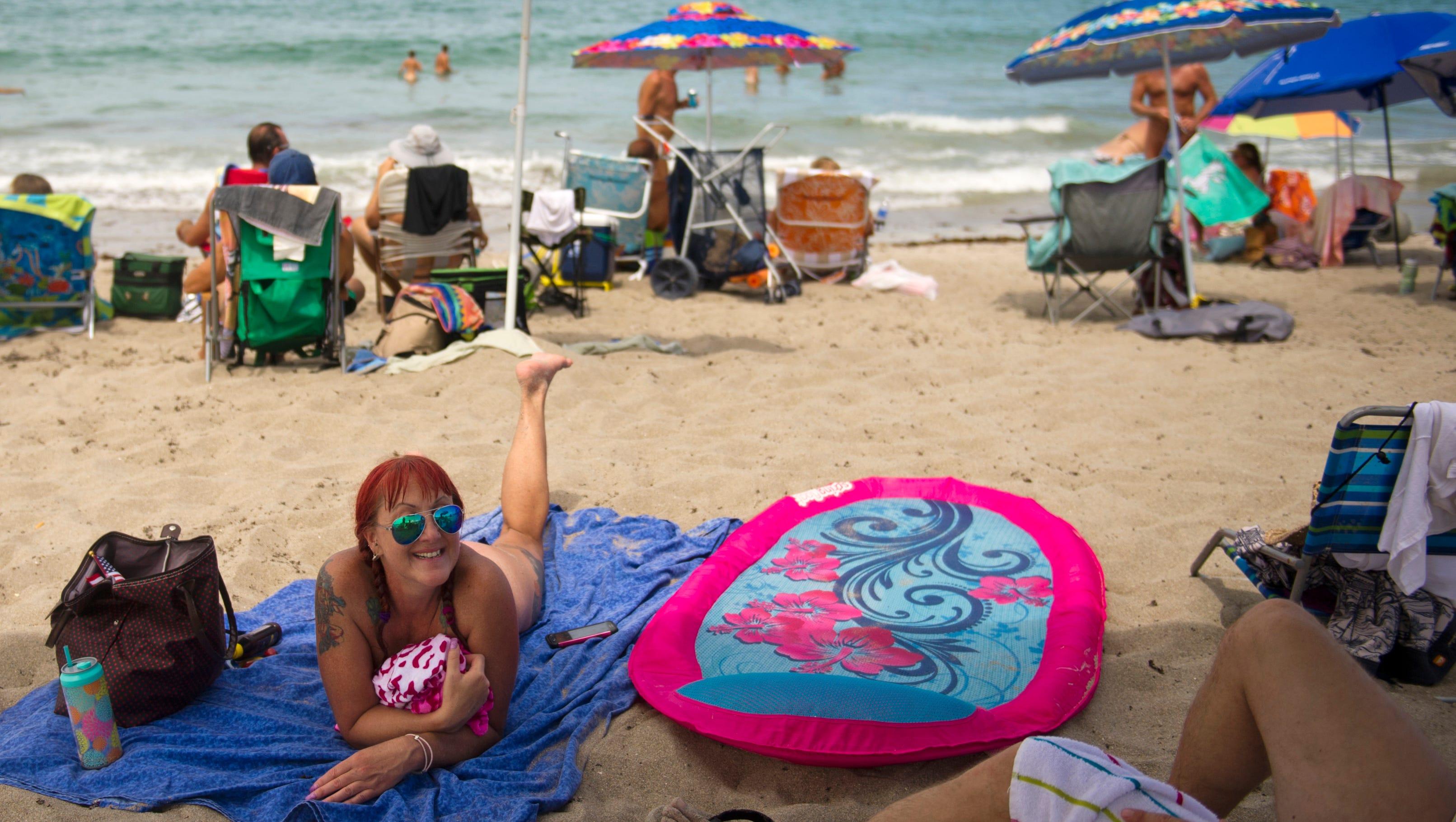 Photos nude beach Beach Couple