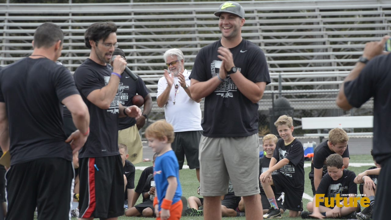 Blake Bortles returned to his high school stomping grounds in Oviedo on March 12 to help run the BodyTech Performance football camp.
