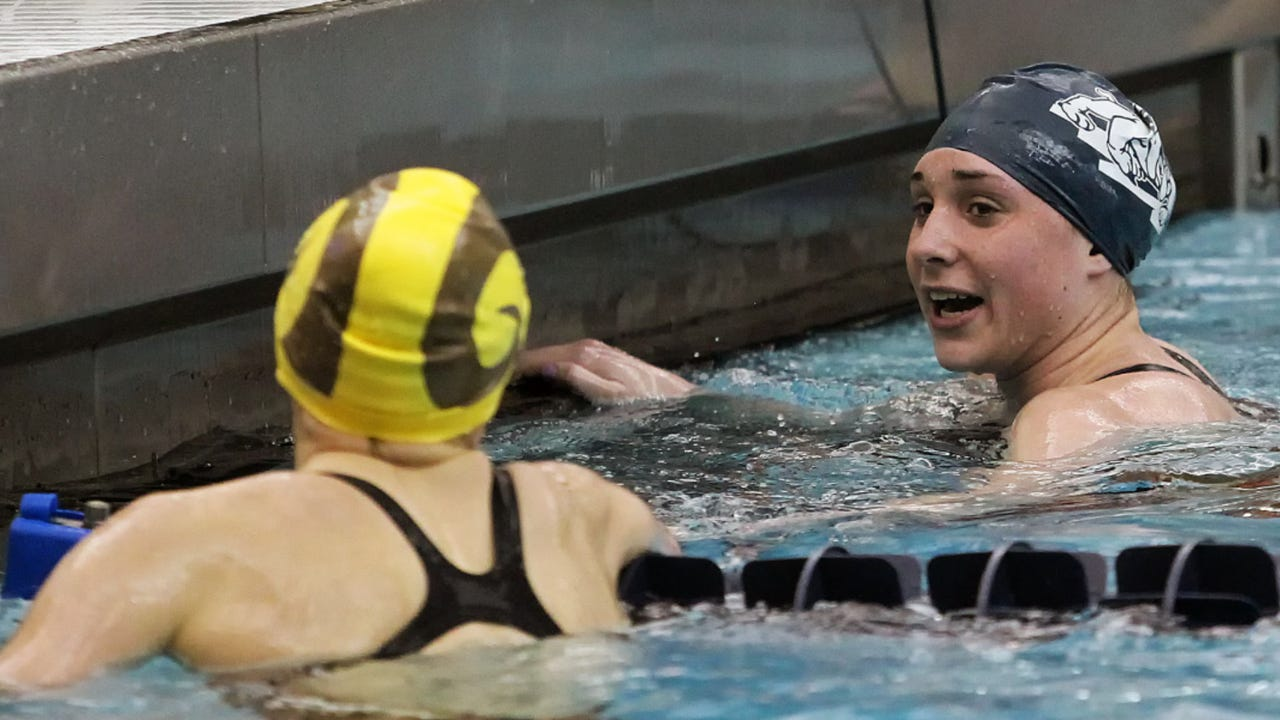 West York's Courtney Harnish has been named the top swimming recruit in the nation by an online site. The 17-year-old explains what she's looking for in a college.