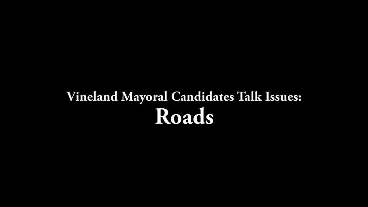 Vineland Mayoral candidates Ruben Bermudez, Anthony Fanucci and Robert Romano sit down with The Daily Journal to talk issues before election day. Part Two: Roads.