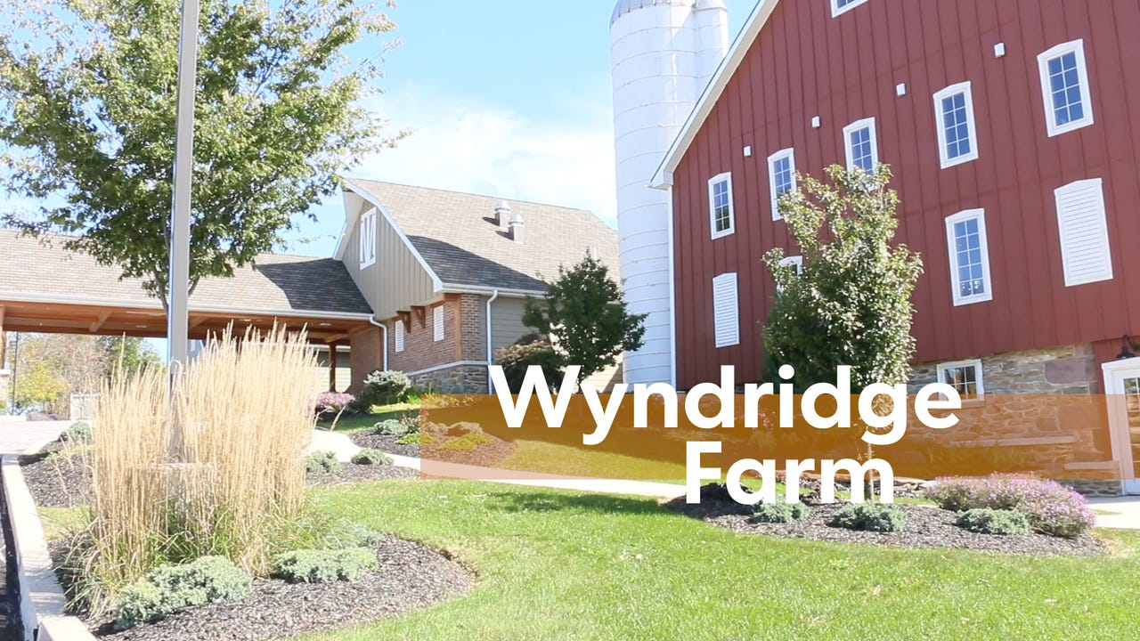 Wyndridge Farm offers a variety of foods that you can eat while you enjoy scenic views of York County farmland