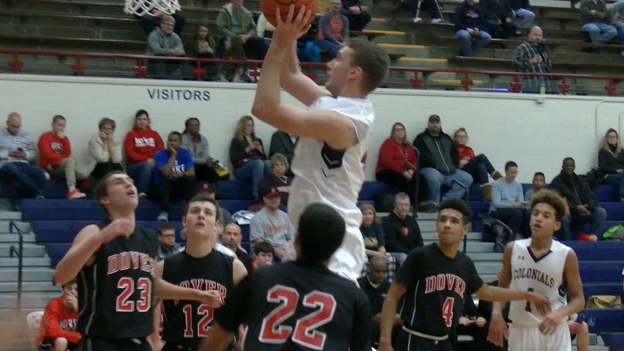 John Wessel scored a game-high 26 points Thursday, leading New Oxford to a victory against Dover.