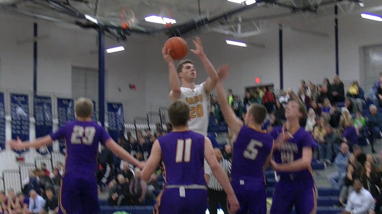 Watch highlights from York Catholic boys' basketball, 70-60, victory against Lancaster Catholic Saturday, Jan. 7, 2017.