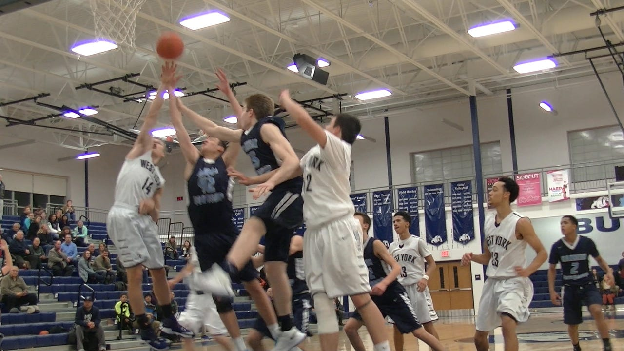 West York trailed by four points when they gained in-bounded the ball with 8.4 seconds left in regulation. Yet, the Bulldogs managed to force overtime by hitting two free throws and tipping in a missed free throw at the buzzer.