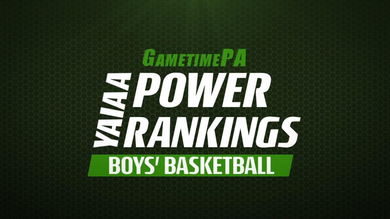Watch GameTimePA's YAIAA power rankings with the top-five boys' basketball teams from Jan. 28, 2017.