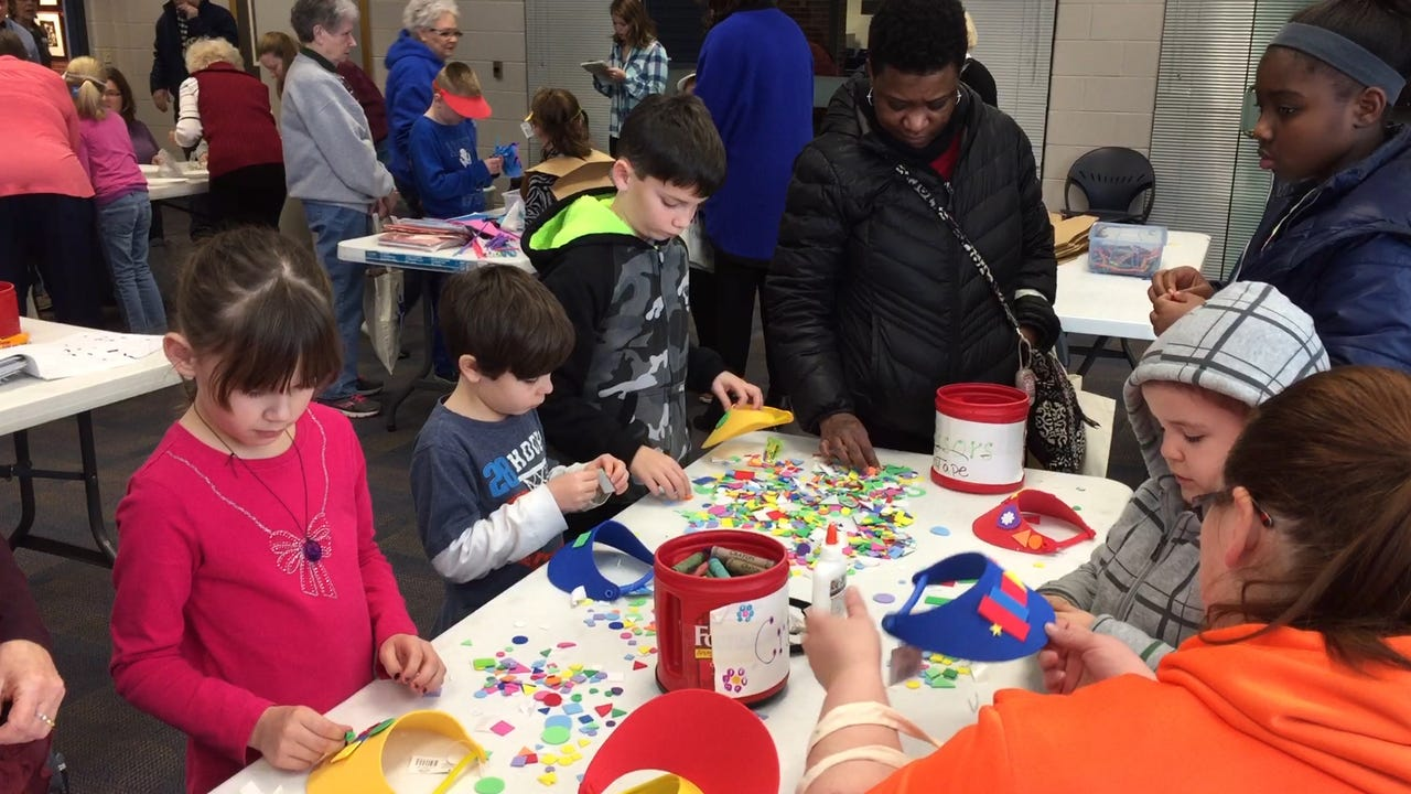 Pam Wilson explains the importance of exploring creativity at a early age, Arts Smarts offers kids a chance to do just that.