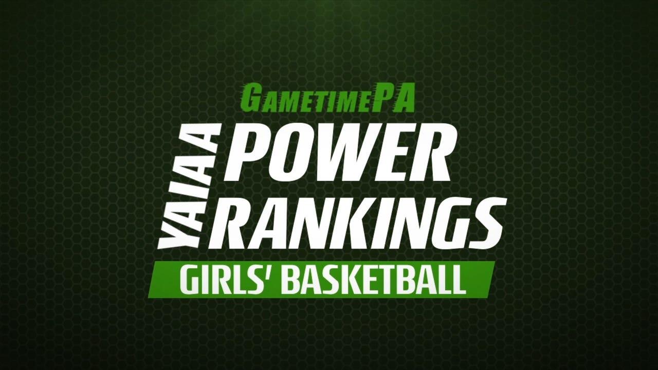 Watch GameTimePA's power rankings for YAIAA girls' basketball through Feb. 4, 2017.