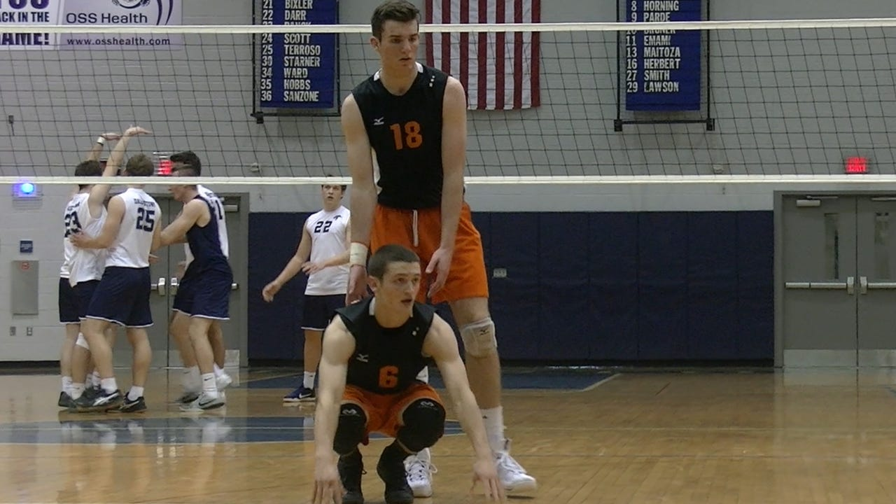 Central York senior Carter Luckenbaugh is finishing off his high school career by once again playing setter for the Panthers' state-ranked boys' volleyball team.