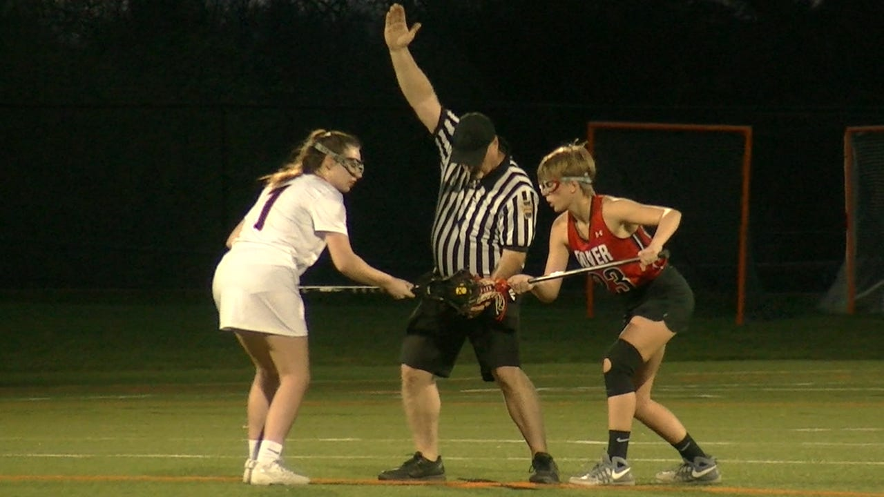 In its first season in the YAIAA, Dover girls lacrosse has managed to earn its first league win.