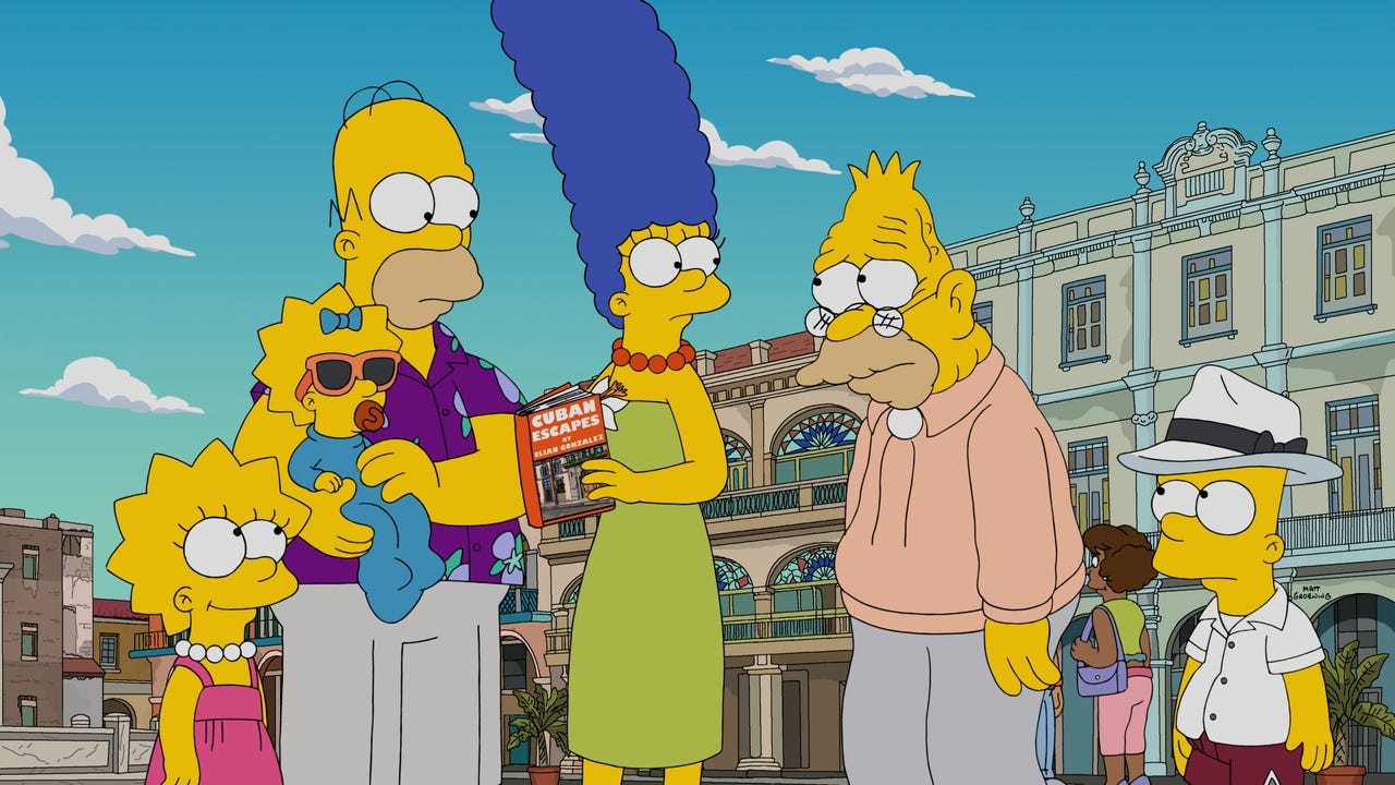 The Simpsons weigh in on Trump's first 100 days. Elizabeth Keatinge (@elizkeatinge) has more.