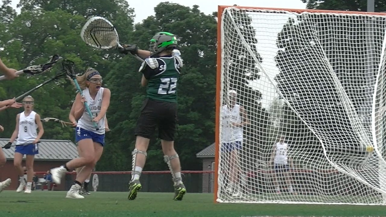 Kennard-Dale girls' lacrosse knocked off York Catholic, 13-8, to return to the District 3 championship game.