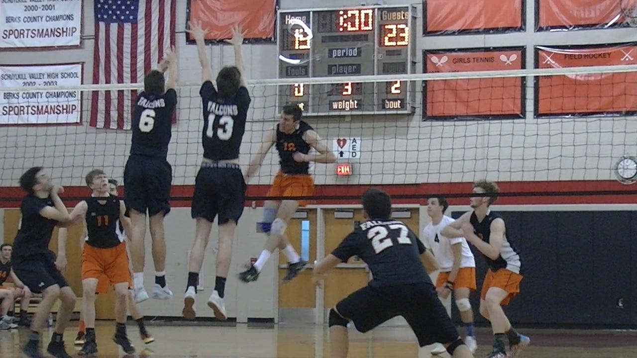 Central York found itself in a back-and-forth game with Pennsbury, but the Panthers played well in the clutch and picked up a sweep in a PIAA Class 3A quarterfinal Saturday at Schuylkill Valley High School.