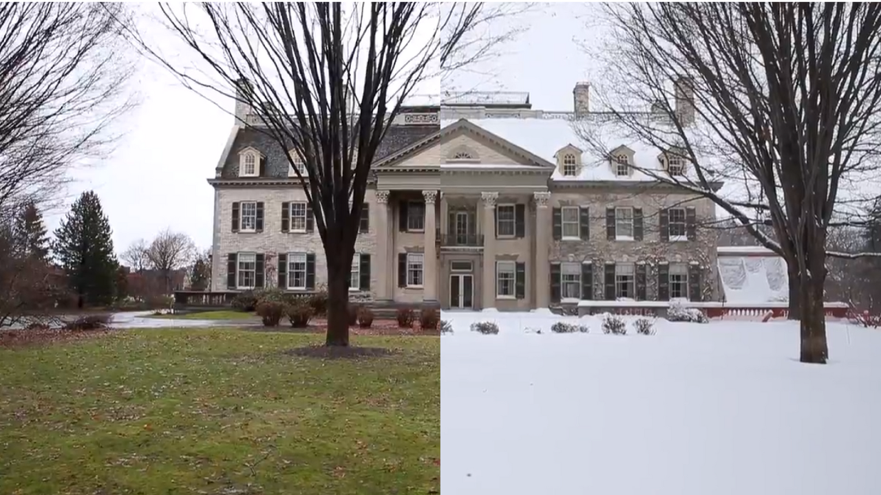 From 60 degrees to the teens in under 24 hours. Did we mention the foot of snow?  A look around Rochester after winter's snowy return. (Jan. 13, 2017)