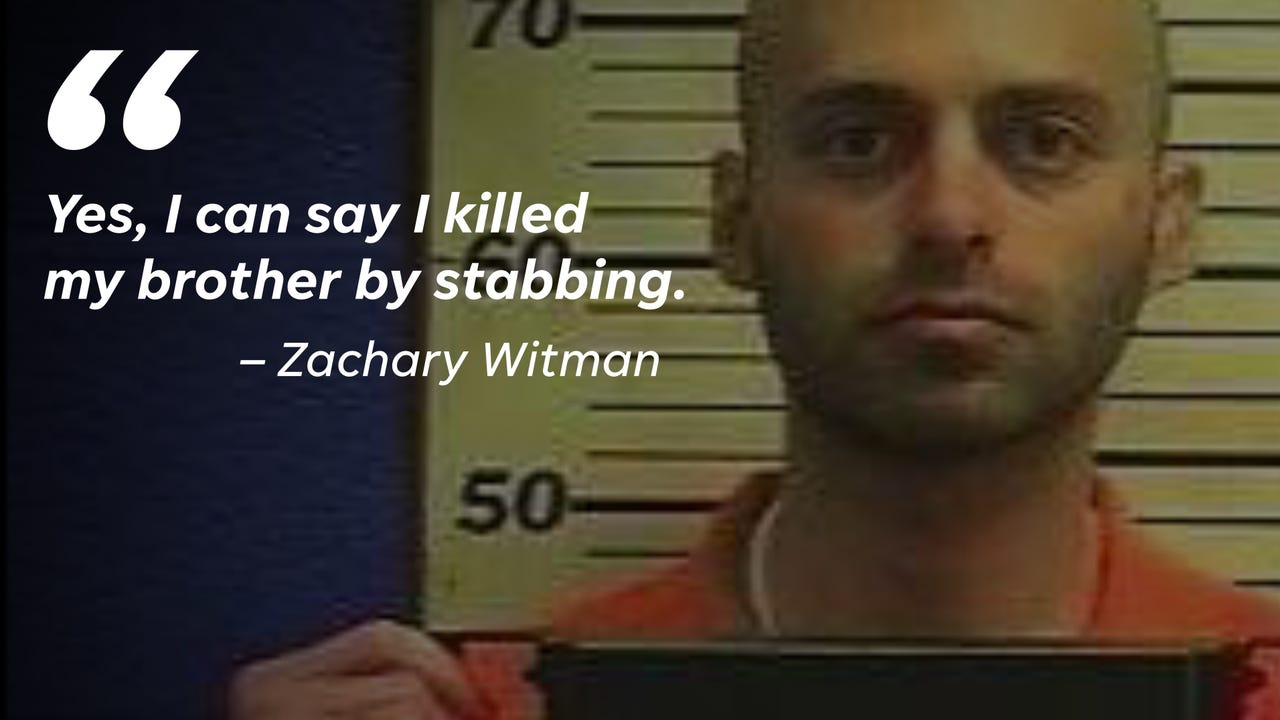 On Feb. 8, 2018, Zachary Witman admitted to murdering his 13-year-old brother Gregory nearly 20 years earlier. This is how he explained what happened.