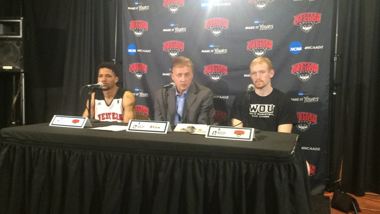 Tanner Omlid talks about his last game with Western Oregon.