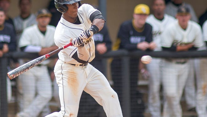 Alabama State's Richard Amion went 4 for 6 and scored three times, including the game-winning run in the 11th, for an 11-10 win over Grambling in the SWAC Tournament.