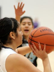 Senior Lady Cat guard Candie Jurado continues to be