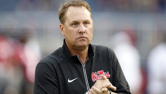 Ole Miss coach Hugh Freeze will collect $4,703,500 of total pay in 2016.