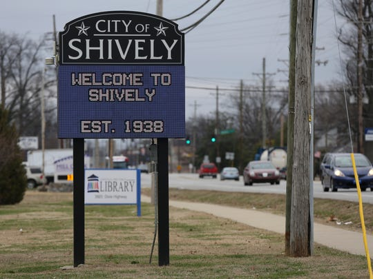 This sign along Dixie Hwy. says the city of Shivey