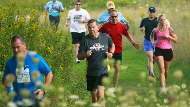 The Badgerland Striders have approximately 3,500 members and put on 19 races throughout the year, such as this one in Lannon in 2014.