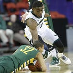 Khalil Small and his UWGB teammates are ready to prove themselves on the road.