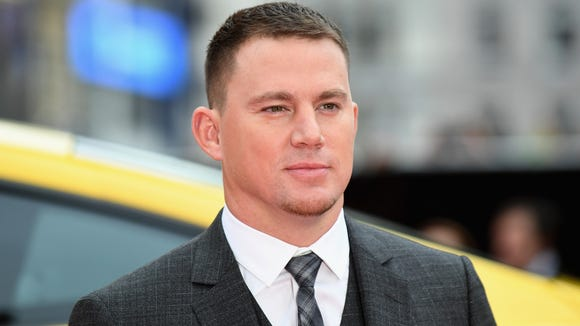 Channing Tatum arriving at the 'Logan Lucky' UK premiere