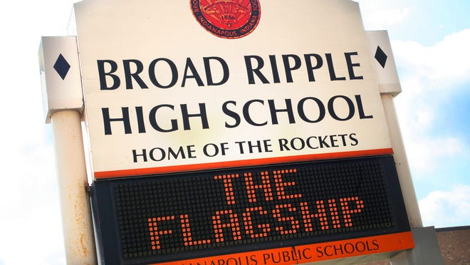 Broad Ripple is one of the five combined middle and high schools in the Indianapolis Public Schools district.