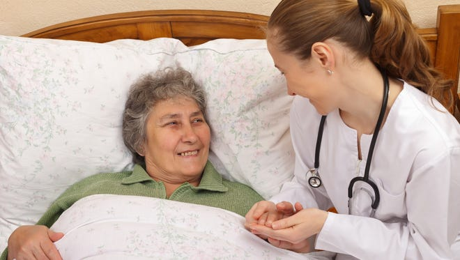 Quality of care for elderly  people living at home