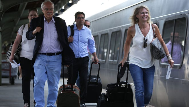 Amtrak will start charging for excess and overweight bags Oct. 1, 2015.