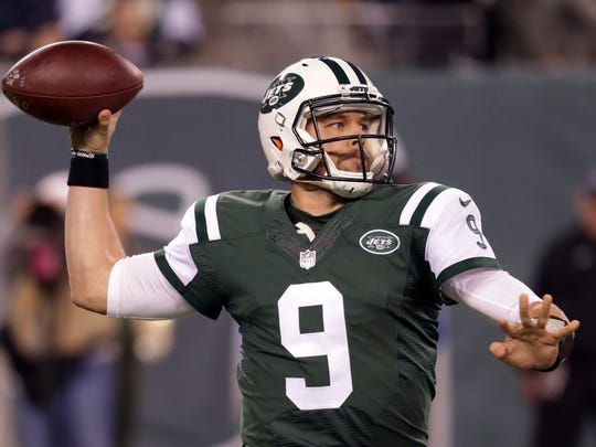 Bryce Petty will start the final four games for the Jets. (AP Photo/Seth Wenig)