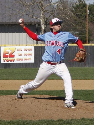 Glendale senior pitcher Austin Huff will be in action Thursday, Friday and Saturday as the Falcons and other Springfield high schools host the Red and Blue Tournament.