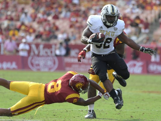 NCAA Football: Western Michigan at Southern California