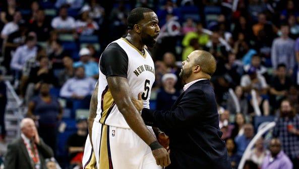 Mar 18, 2016; New Orleans, LA, USA; New Orleans Pelicans