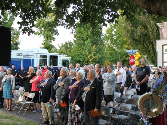 The annual 9/11 remembrance ceremony is hosted by Keizer