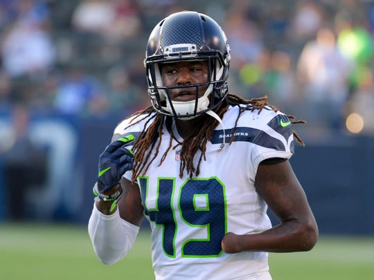 Shaquem Griffin NFL: Seattle Seahawks at Los Angeles Chargers
